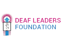 Logo of Deaf Leaders Foundation