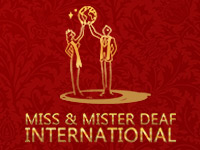 Logo of Miss & Mister Deaf International