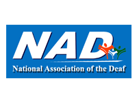 Logo of National Association of the Deaf